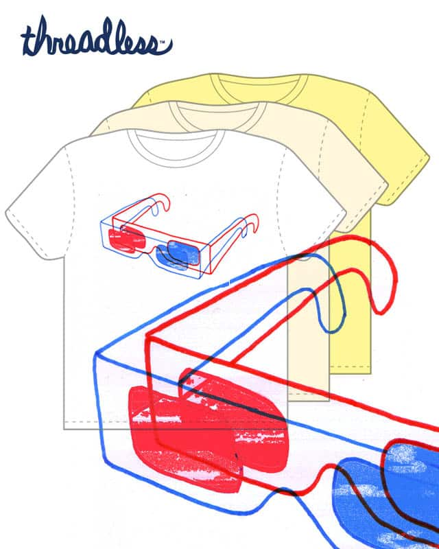 3D 3D GLASSES by jimjamjames on Threadless