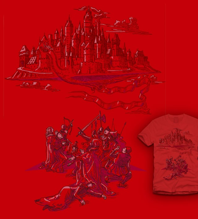 The Flying Fortress by amarillo on Threadless