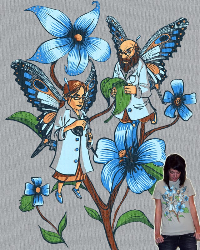 The Science of Butterflies by slapcorp on Threadless