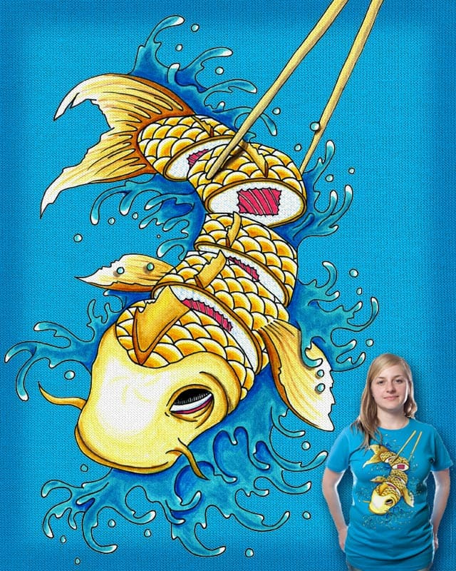 Pescado Fresco a la Joy by zipperking on Threadless