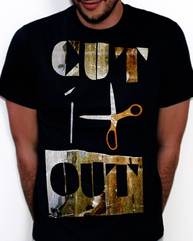 Cut it Out by loremandipsum on Threadless