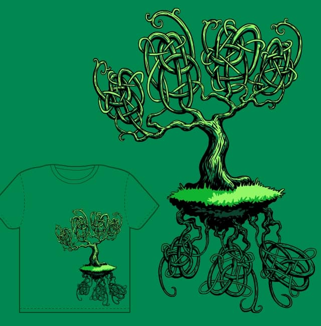 Celtic Tree by TPiecham on Threadless