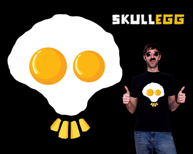 Skull Egg by sustici on Threadless