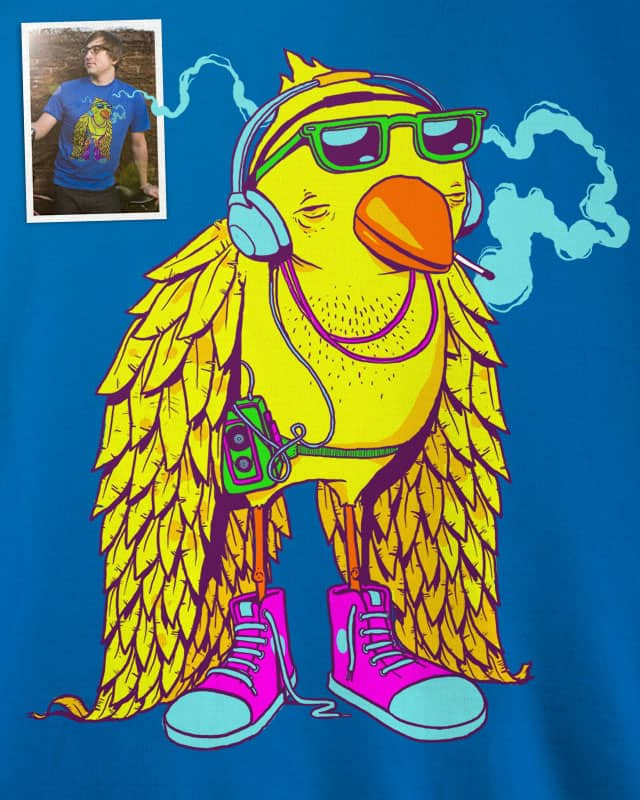 Even the coolest birds shouldn't smoke. by Gringz on Threadless