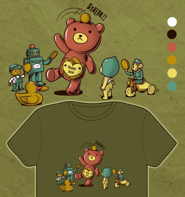 show time by ben chen on Threadless