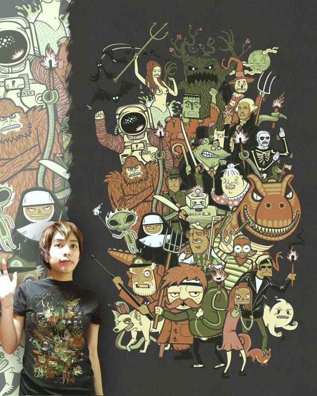 Angry Mob by dpsullivan on Threadless