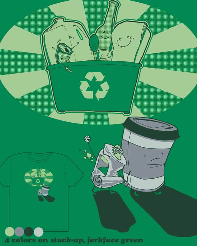 Trash by robbielee on Threadless