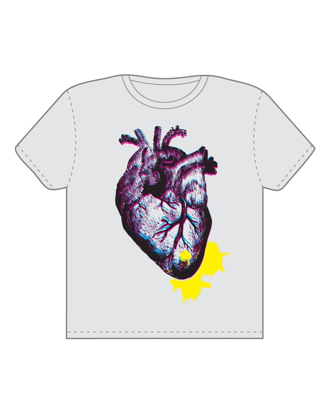 Oh my bleeding heart. by knuckleberry on Threadless
