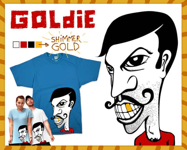 Goldie by sustici on Threadless
