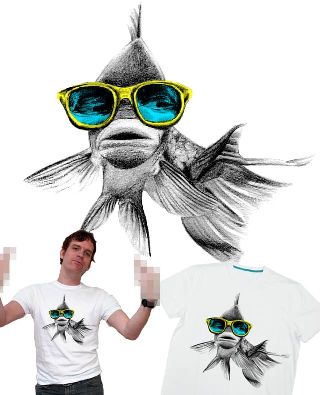NERD FISH by CURLYCREATIVE on Threadless