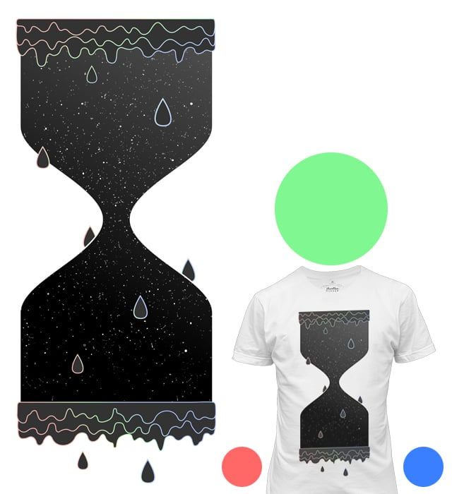 Space And Time by esskayeesee on Threadless