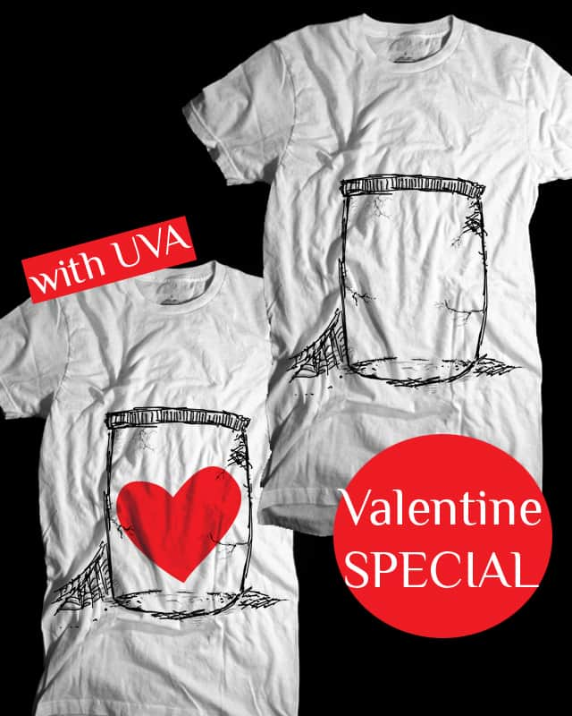 Valentines SPECIAL - Love In Jar by aleksandartopic on Threadless