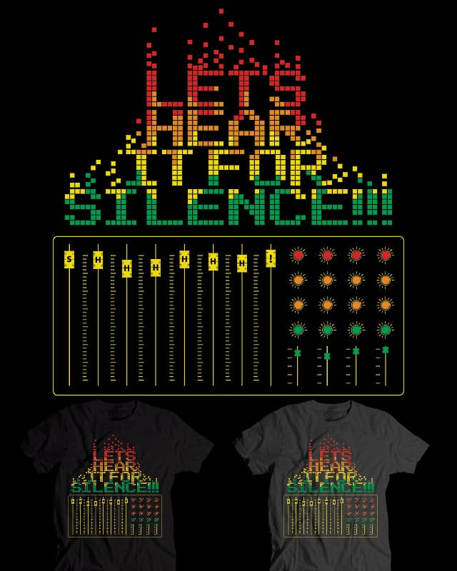 SILENCE! by EricDiaz on Threadless
