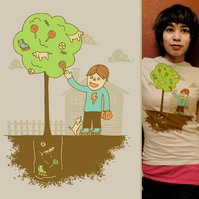 The Giving Tree by againstbound on Threadless