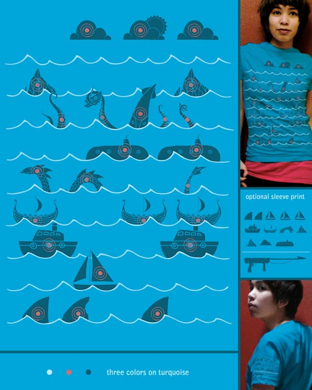 Shooting Gallery by againstbound on Threadless