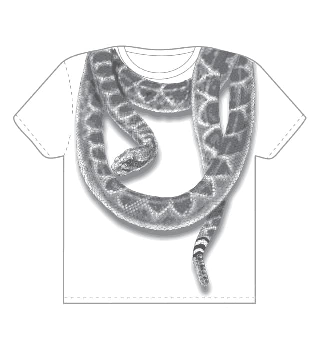 snake loops by jdelap on Threadless