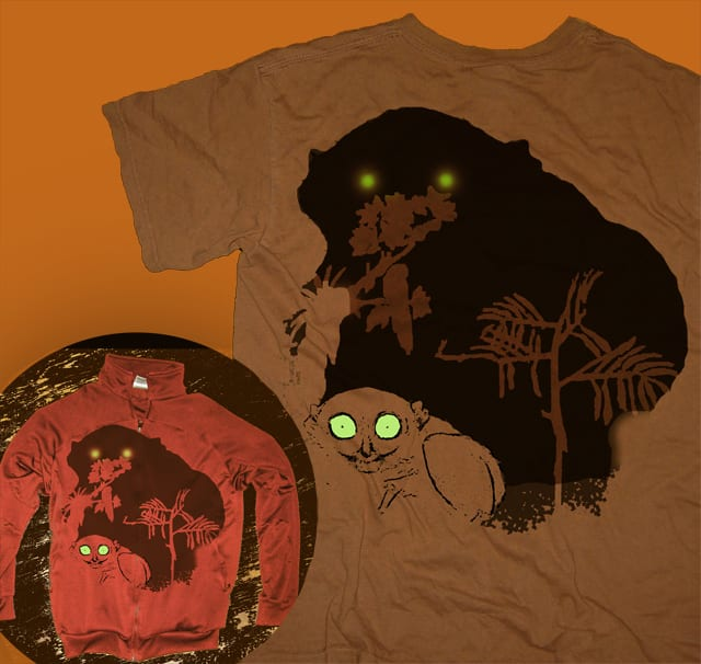 The monster shadow by J_Kiss on Threadless