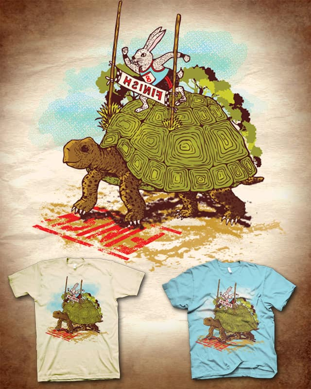 We're Slow and Steady by kooky love on Threadless