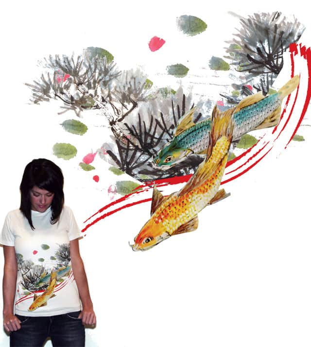 Yu Fish by charlieangel on Threadless