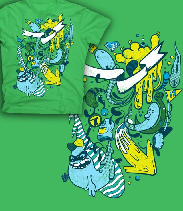 Atomic King by atomicchild on Threadless