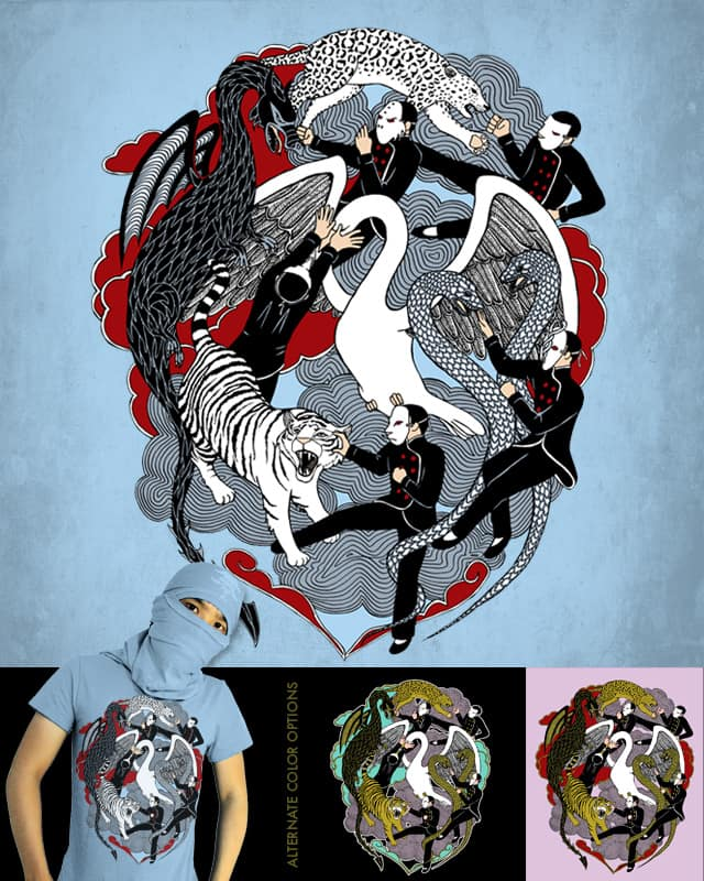 Shaolin Showdown by valorandvellum on Threadless