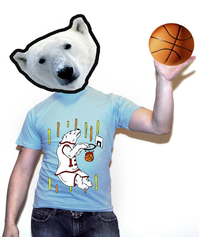 polar~slam~dunk by randyotter3000 on Threadless