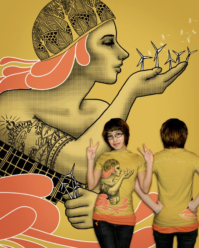 Madre Natura Moderna by valorandvellum on Threadless