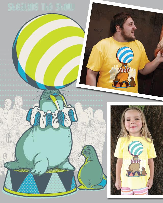 Stealing the Show by BubuSam on Threadless