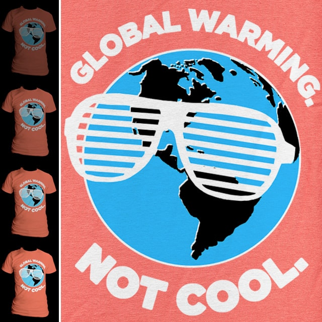 Not Cool. by aled on Threadless