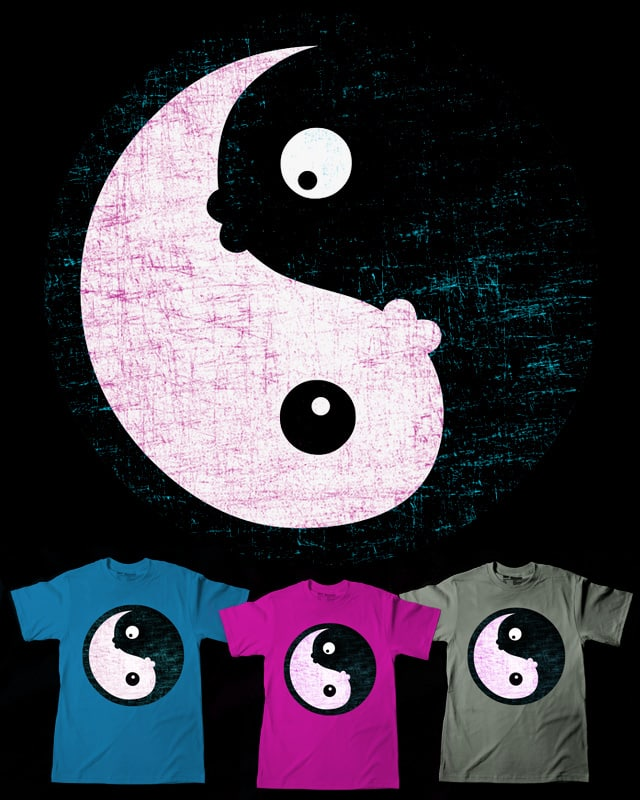 Yin and Yang by sustici on Threadless