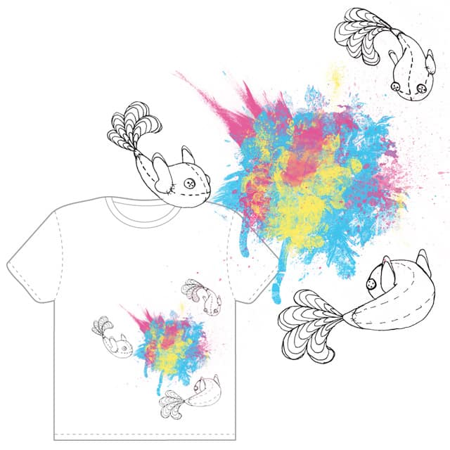 Glow to Color by mindles on Threadless