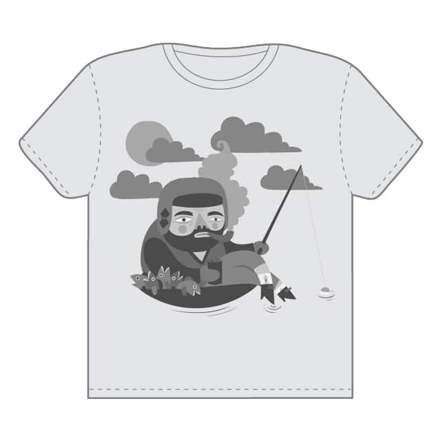 Old Man Lake by rfeerer on Threadless