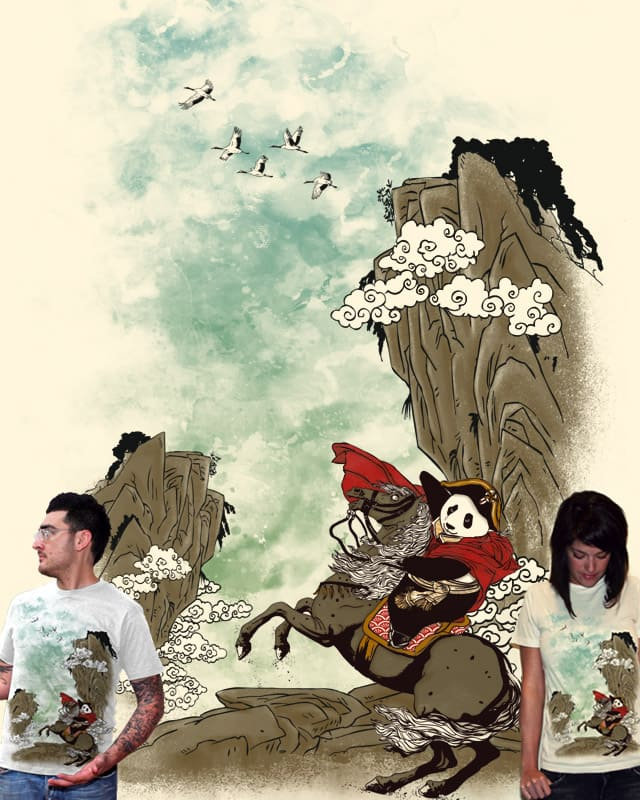 Crossing The Great Mountains by xiaobaosg on Threadless