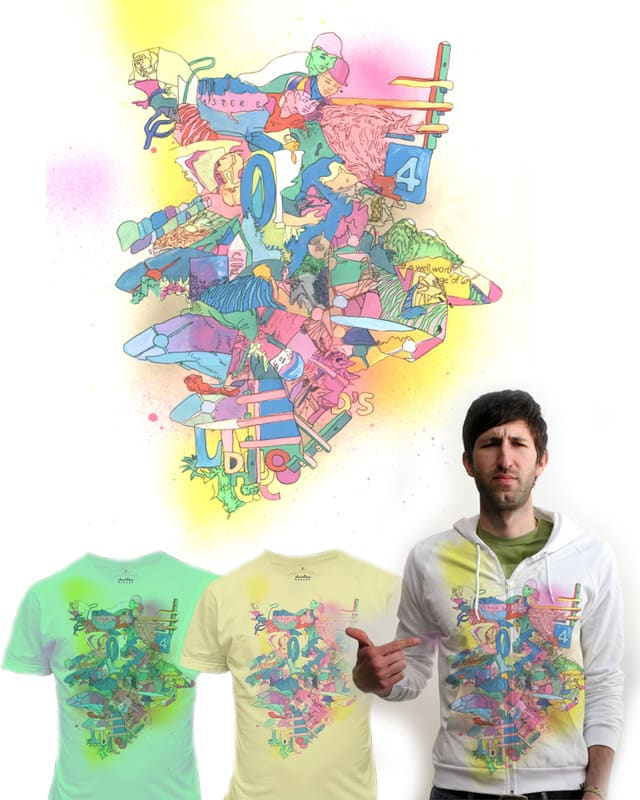 rainbow jockeys by ginetteginette on Threadless