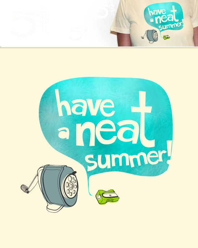 Neat Summer by corey9 on Threadless