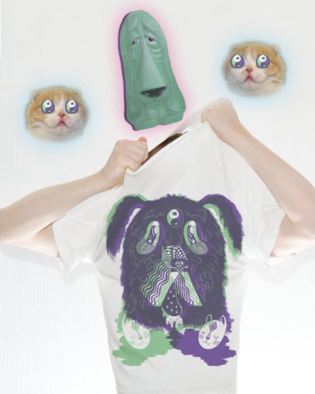 DAWG TRIPPIN ON CAT HEADS by ginetteginette on Threadless