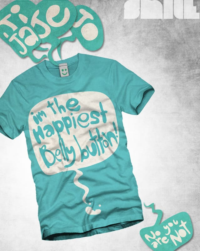 show your belly button by pickupRINGO on Threadless