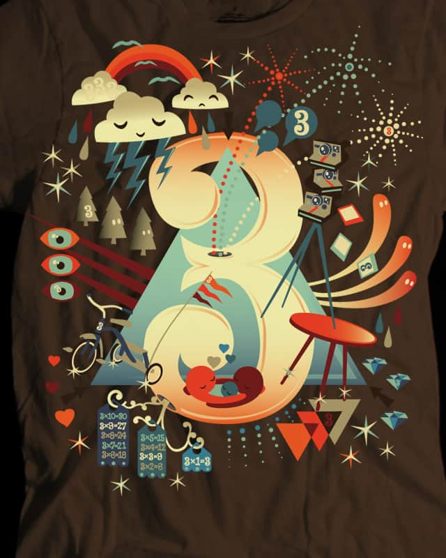 the magic number by everything on Threadless