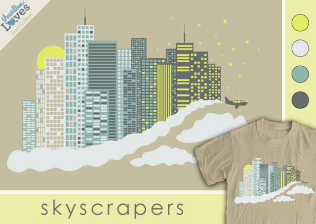 Skyscrapers by EricaTheRed on Threadless