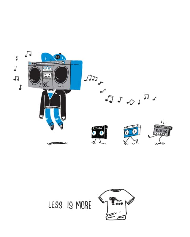 the pied piper of old mix tapes from middle school by ladrones on Threadless