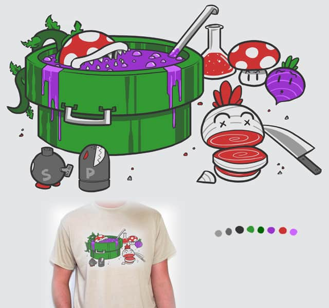 Super Soup by Splashed Ink on Threadless