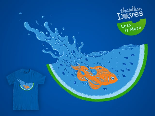 Watermelon Dive by buko on Threadless