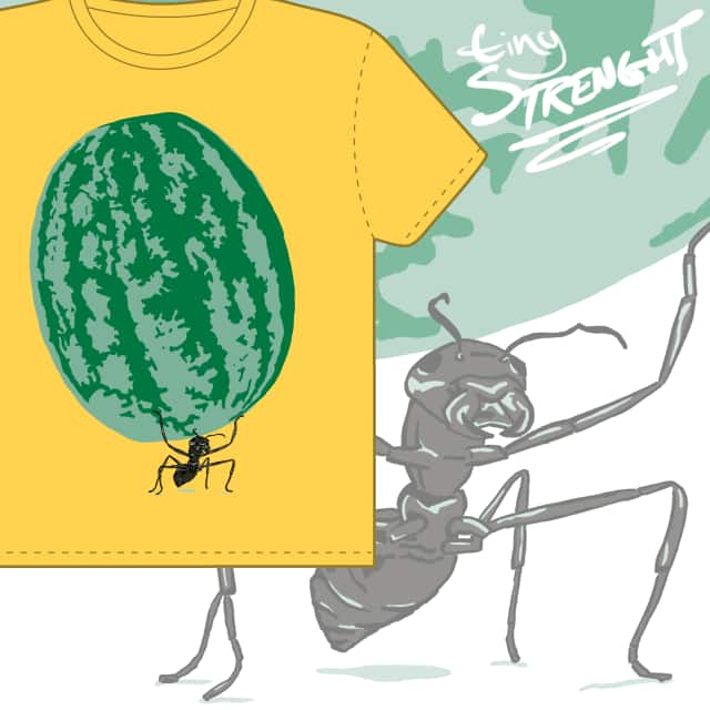 tiny strength by Operator on Threadless