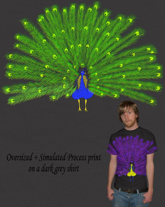 It's a Peacock by Mosquito88 on Threadless