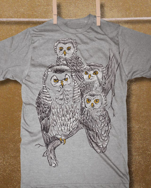 A Parliament of Owls by Ian Leino on Threadless