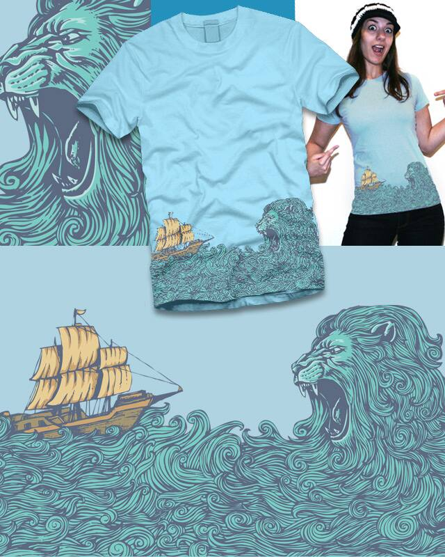 The Ocean is The Predator by KDLIG on Threadless