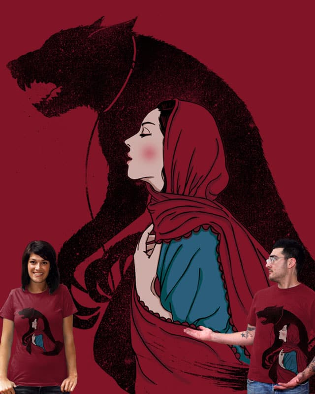 Taming of the wolf by xiaobaosg on Threadless