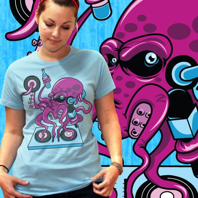 disco octo by lumad on Threadless