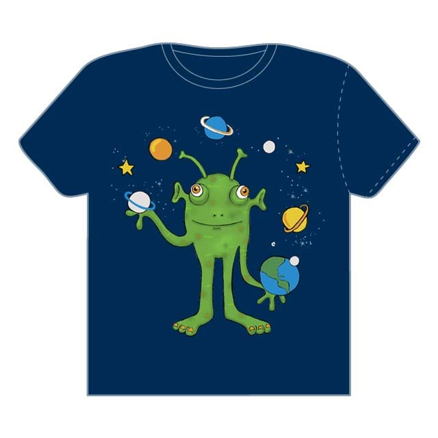 My juggler martian by Irita on Threadless
