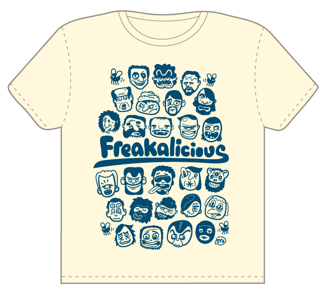 Freakalicious by jokkesvin on Threadless